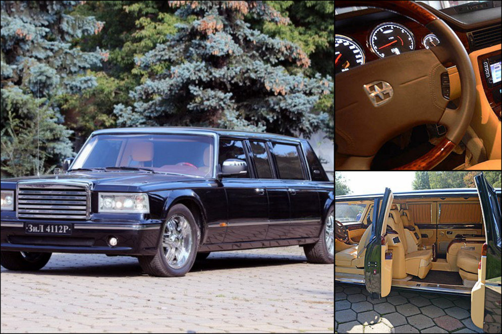 "ЗИЛ-4112Р  ""для Путина"" с пробегом 143 км выставлен на продажу за €1 000 000"