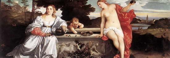 Тициан. Любовь земная и небесная