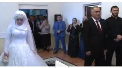 Кадыров: 17-летняя Луиза Гойлабиева счастлива в браке с начальником РОВД
