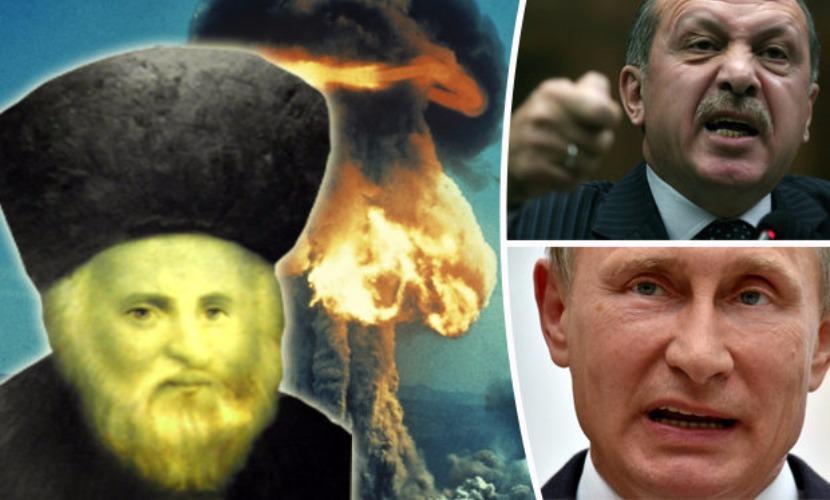 """Еврейские мудрецы предсказали, что """"конец света"""" начнется войной России и Турции"""