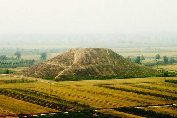 Кто построил китайские пирамиды? история, факты