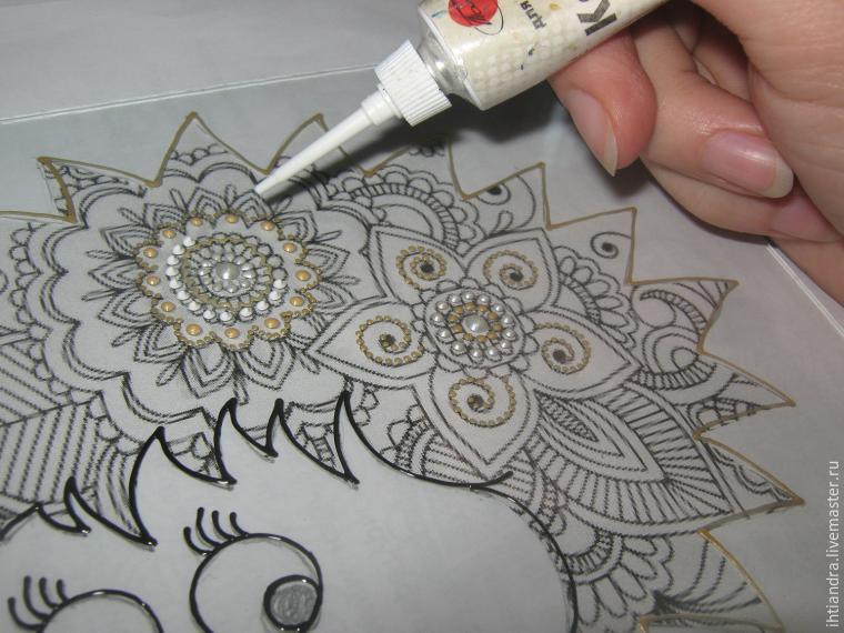мастер класс росписи по стеклу контурами - VIP-irk.ru