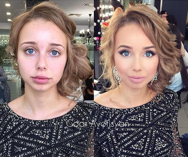 """Искусство макияжа — подборка невероятных преображений """"милого лица"""""""