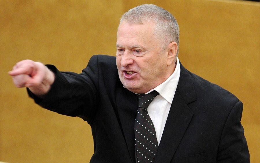 Предвыборное обещание Жириновского: «Через 2 дня после моего избрания российский флаг будет реять над Киевом»
