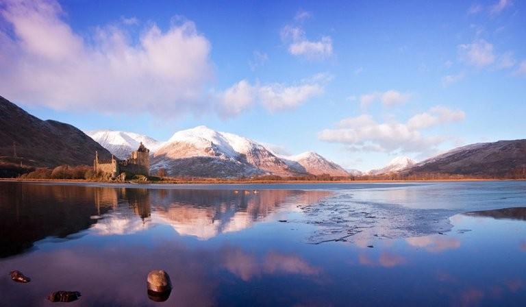 Озеро Лох-Эйв и замок Килхурн Rough Guide, голосование, канада, конкурс, куда поехать, опрос, самые красивые страны, шотландия