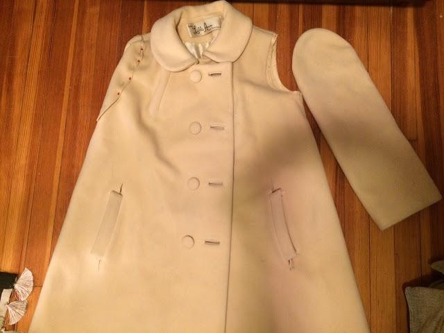 Как обновить пальто своими руками фото