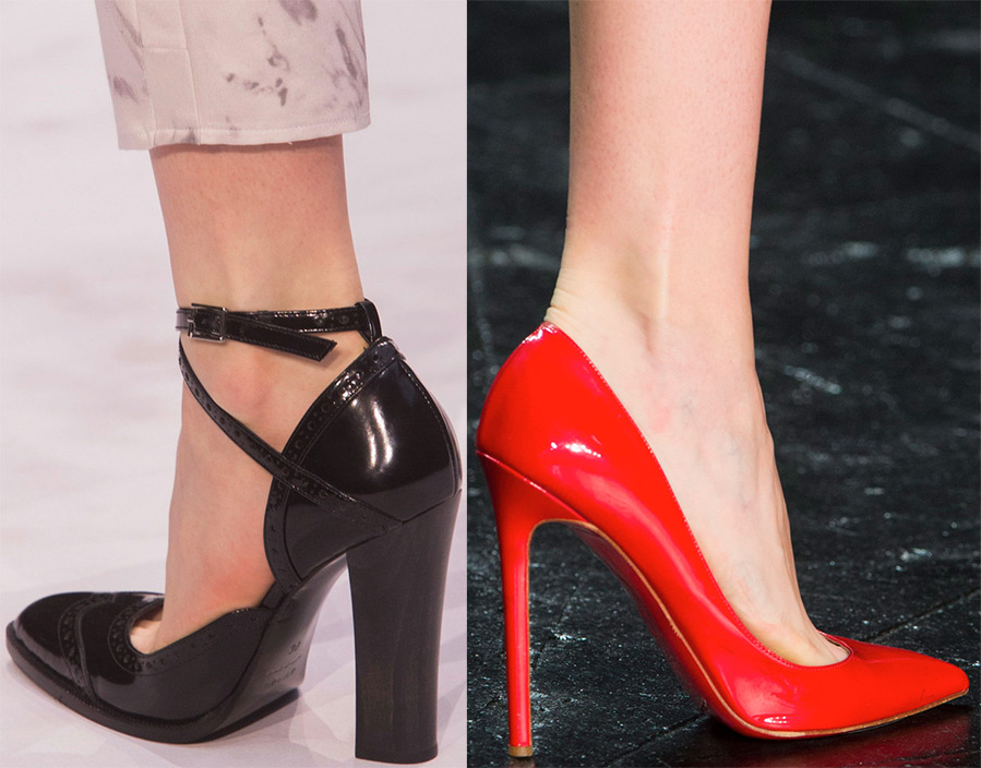 Туфли: актуальные модели 2016