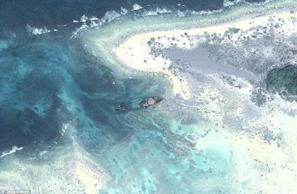 Опасный остров Бенгальский залив, остров