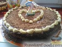 """Фото к рецепту: Торт """"Пражский"""""""