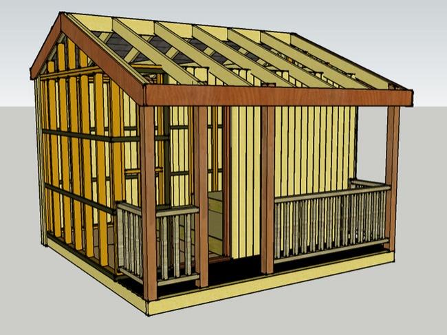 Этот домик выглядит как обычный сарай, и вы ни за что не угадаете, что у него внутри