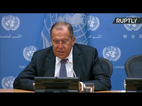Итоговая пресс-конференция Лаврова на Генассамблее ООН