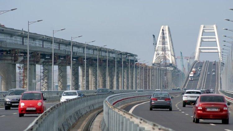 Трассу к Крымскому мосту рас…