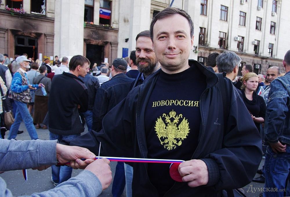 Руководитель одесского подполья Алексей Чмырь в гостях у Дмитрия Пучкова