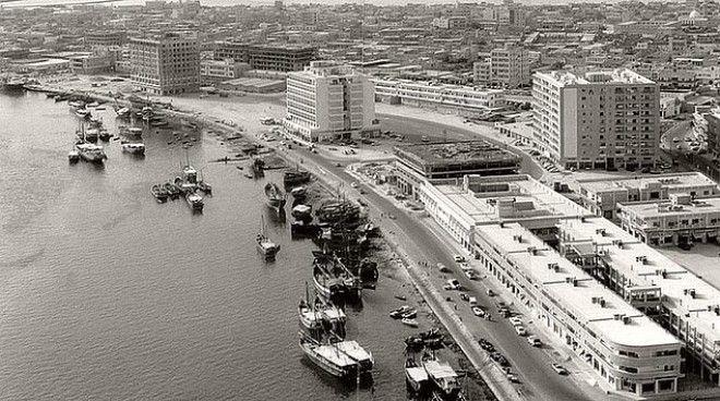 Дубай в 1950-1960-х