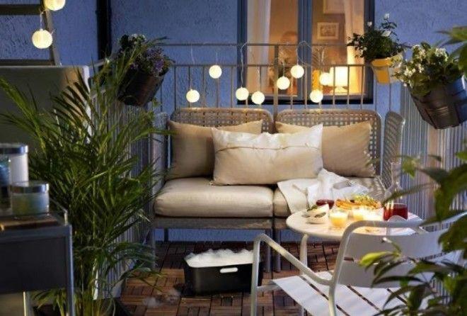 17 способов превратить свой крошечный балкон в место для отдыха