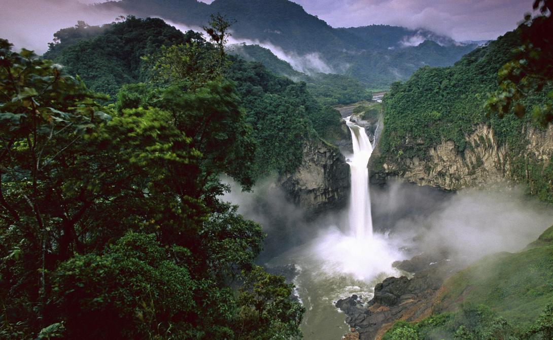 Река Амазонка Южная Америка 6 516 километров