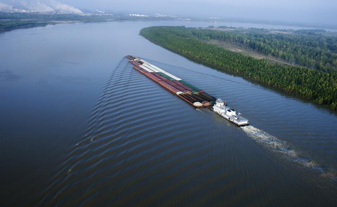 Миссисипи США 3 766 километров Самая длинная река в Северной Америке.