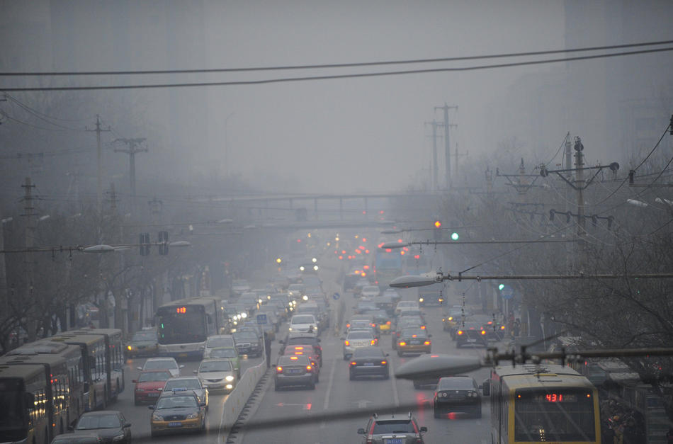 pollution003 Загрязнение окружающей среды в Китае