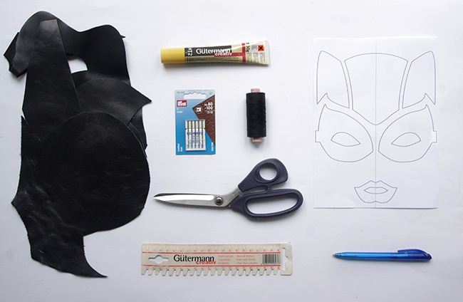 Схема аппликаций из кожи