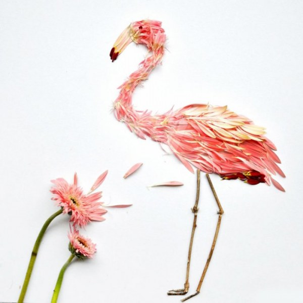 Цветочные композиции от Хонг Йи (14 фото)