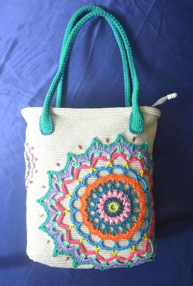 Идея декора сумки и МК ручек
