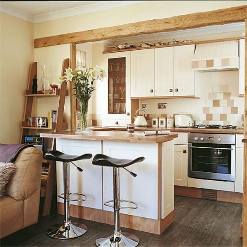 Как сделать гостинную в кухне