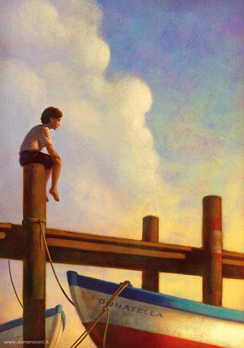 Лето у моря. Автор: Paolo Domeniconi.
