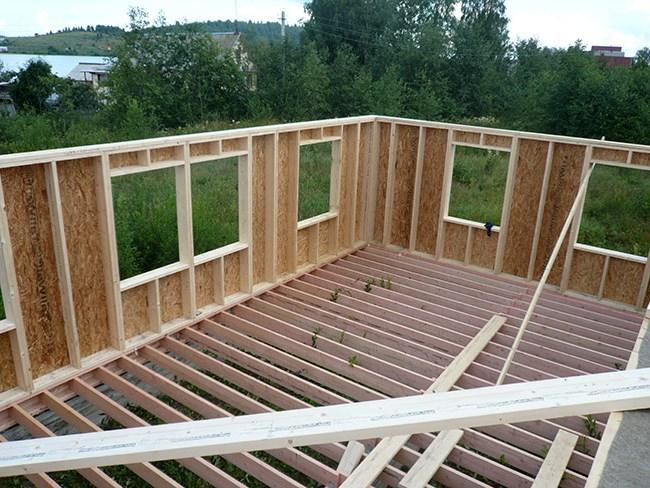 Инструкция по строительству каркасного дома своими руками