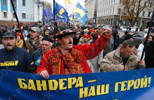На Украине начинают строительство нового нацистского государства