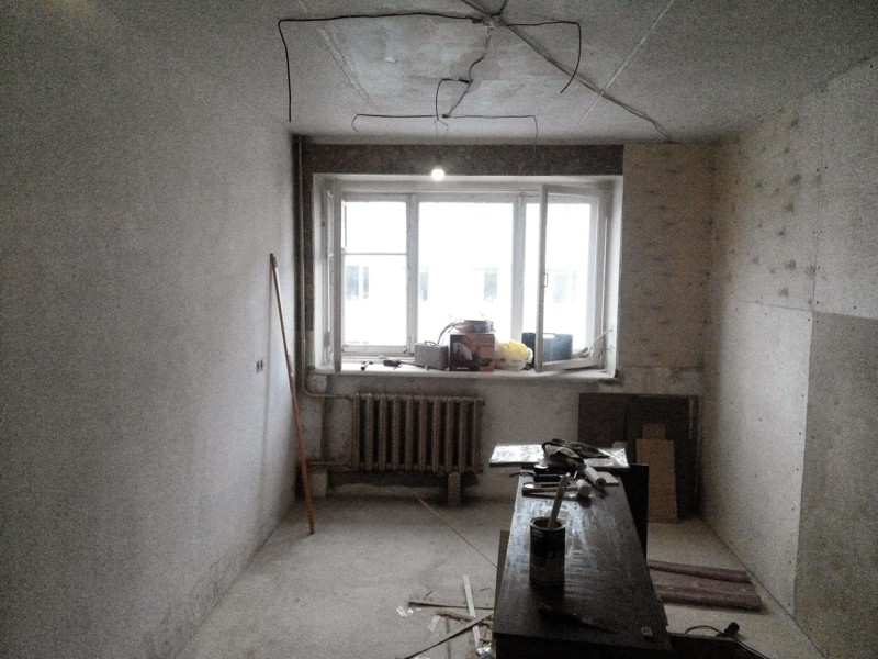 Ремонт зала 16 квадратов в хрущевке своими руками, сделай сам