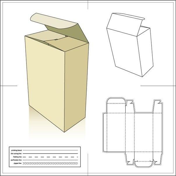 Как сделать высокую коробочку своими руками