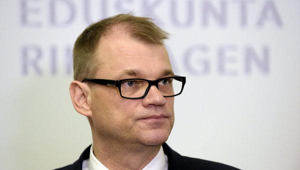 Глава правительства Финляндии Юха Сипиля