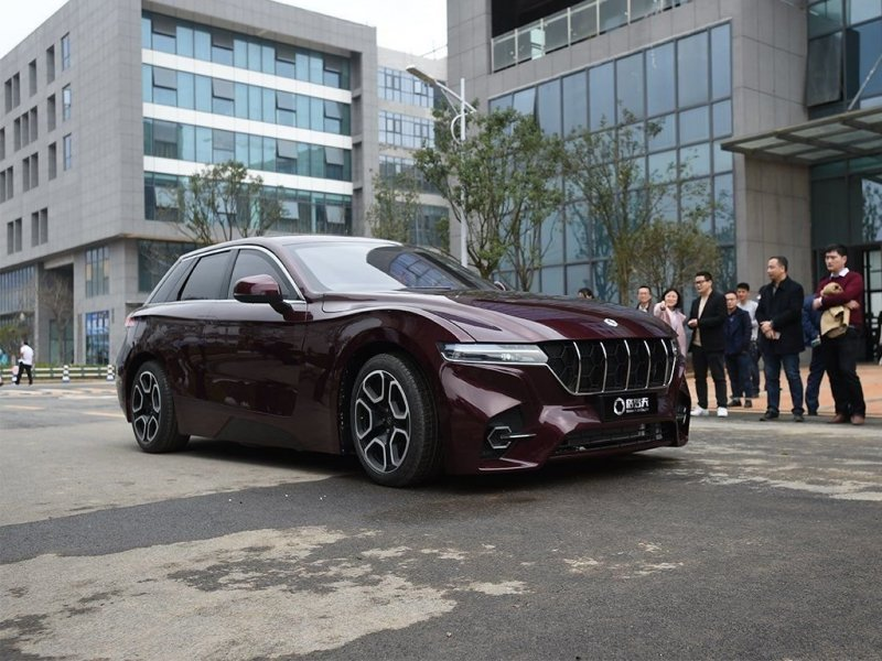 Китайцы разработали автомоби…