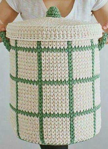Красивая идея для вязания крючком.