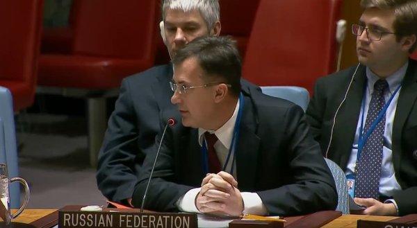 Российский представитель при ООН Г. В. Кузьмин