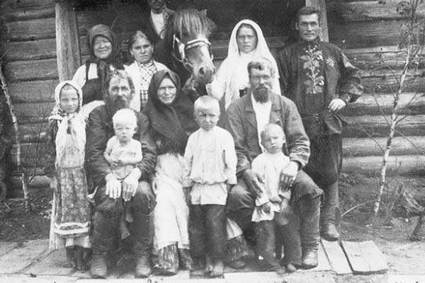 Русские крестьяне вспоминают…