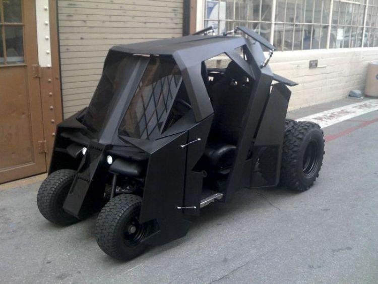 Необычные автомобильные самоделки