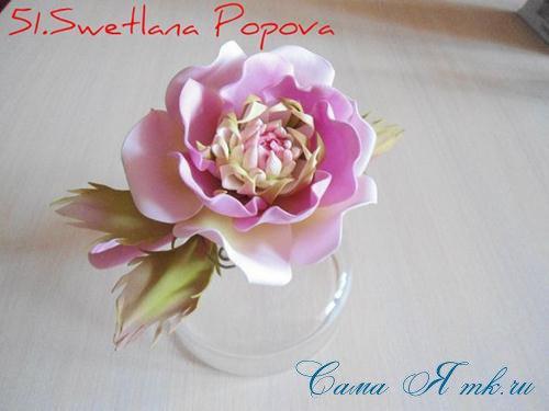 МАСТЕР-КЛАСС: цветок из фоамирана