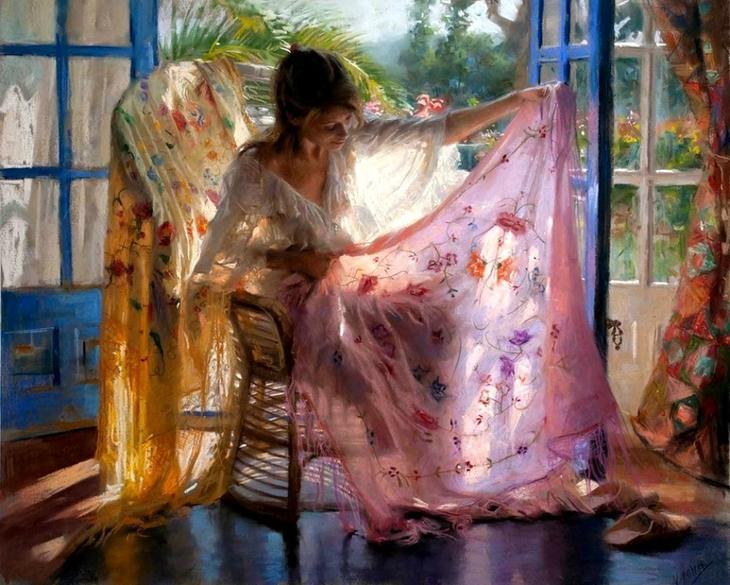 15 пленительных картин испанского художника