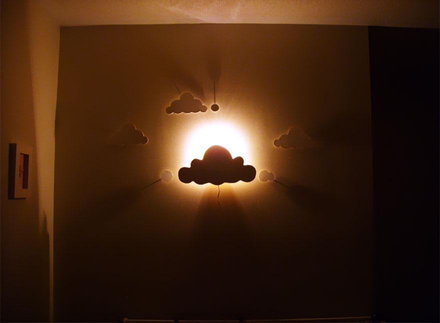 Детские светильники из дерева