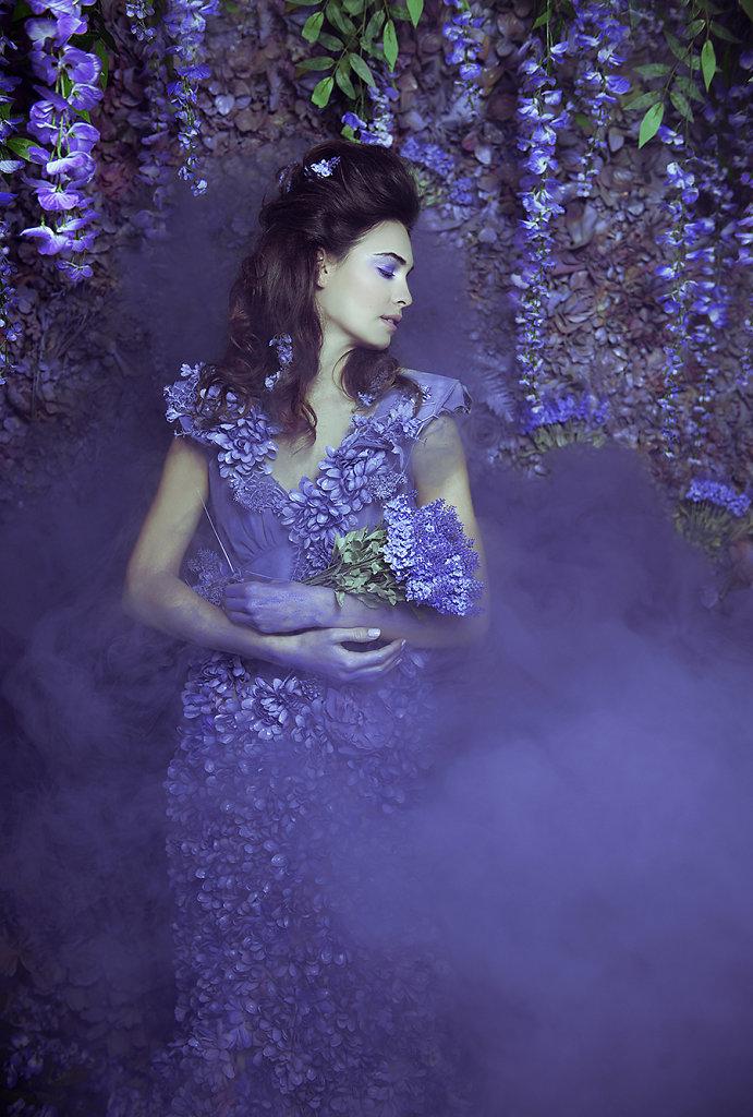 Фотопрект «Таинственный сад». Потрясающие сюрреалистические портреты фотографа Даниэлы Мэджик - 11