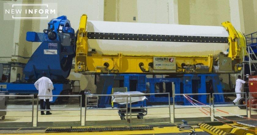 Новейший ракетный двигатель …