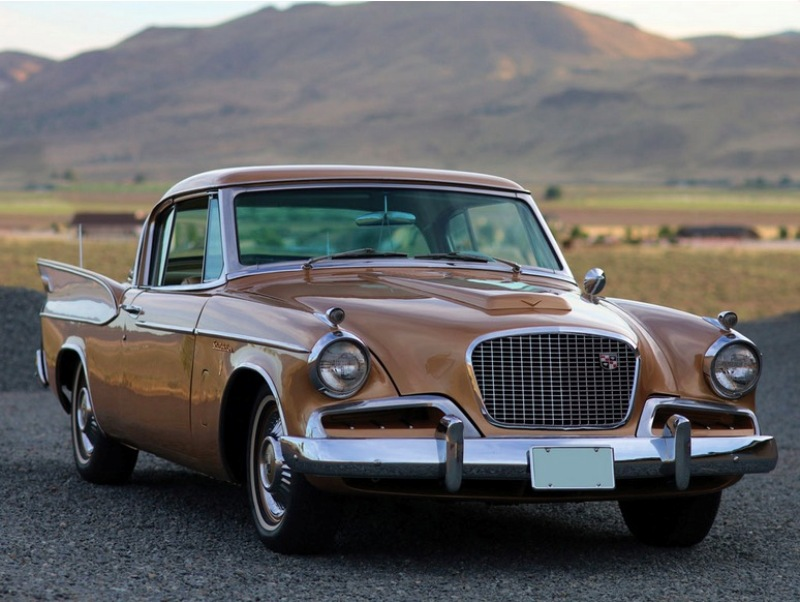5. Studebaker Golden Hawk Hershey Motor Lodge, аукцион, олдтаймер, продажа авто