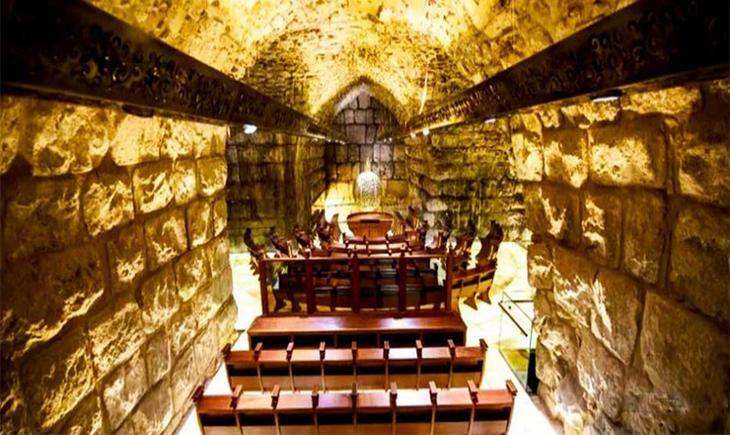 Тоннели под Храмовой горой