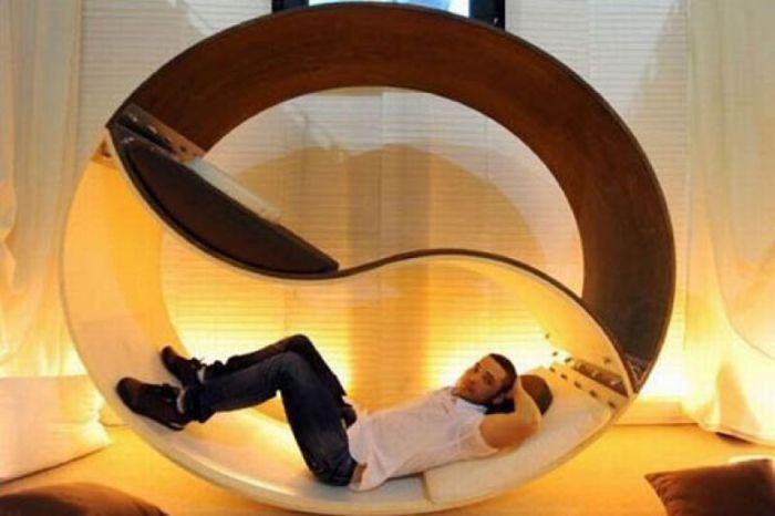 Оригинальный дизайн кровати от Alessio Pappa.