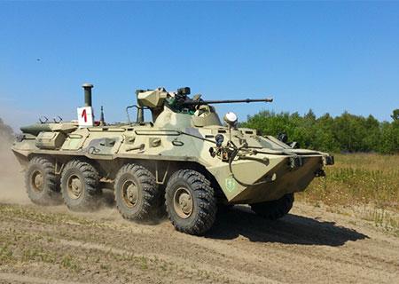 БТР-82А: истребитель танков способен «поставить на колени» целый батальон противника