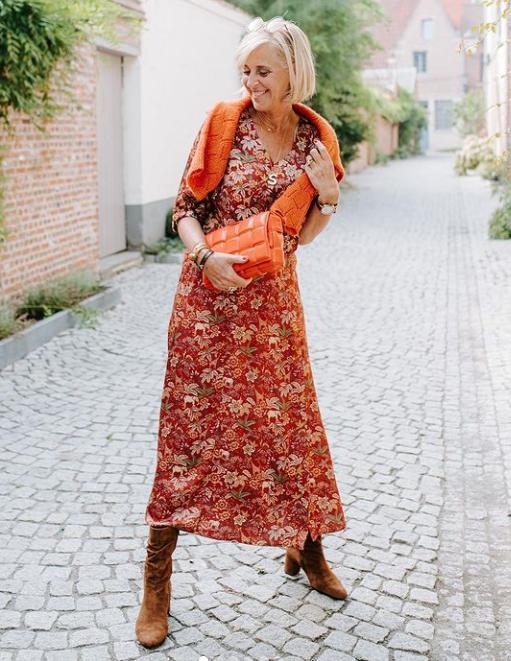 Женщина 55+, которая хочет выглядеть молодой. Шикарная подборка
