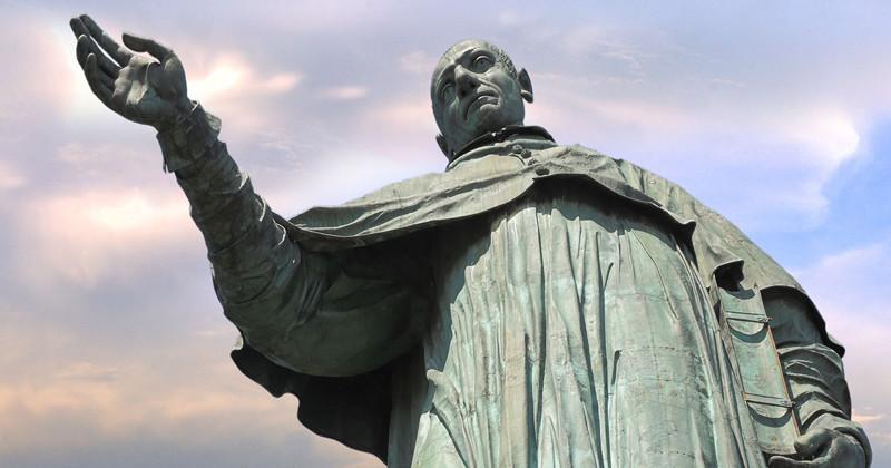 Колоссальная статуя XVII век…