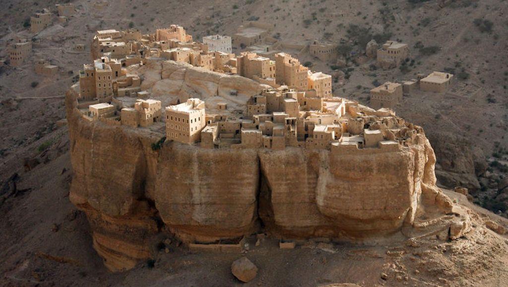 Деревня, которая полностью построена на камне