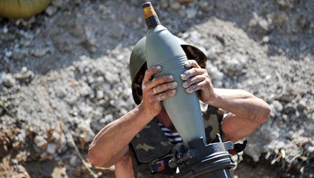 В Горловка:  украинские силовики открыли огонь по городу